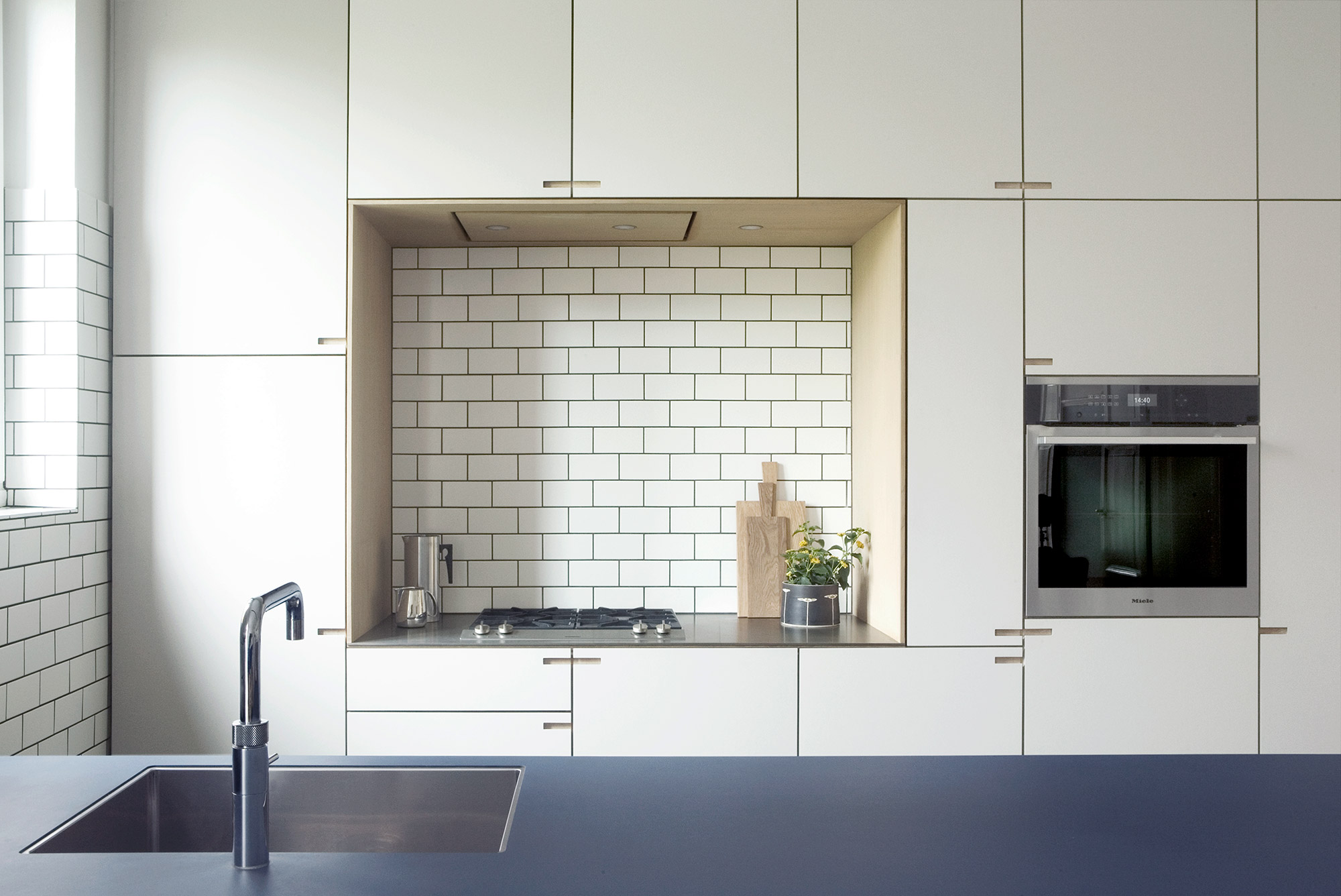 Bespoke oak wood kitchen from Nicolaj Bo™, Copenhagen