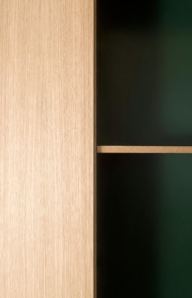 Nicolaj Bo kitchen design. Minimalist oak wood kitchen