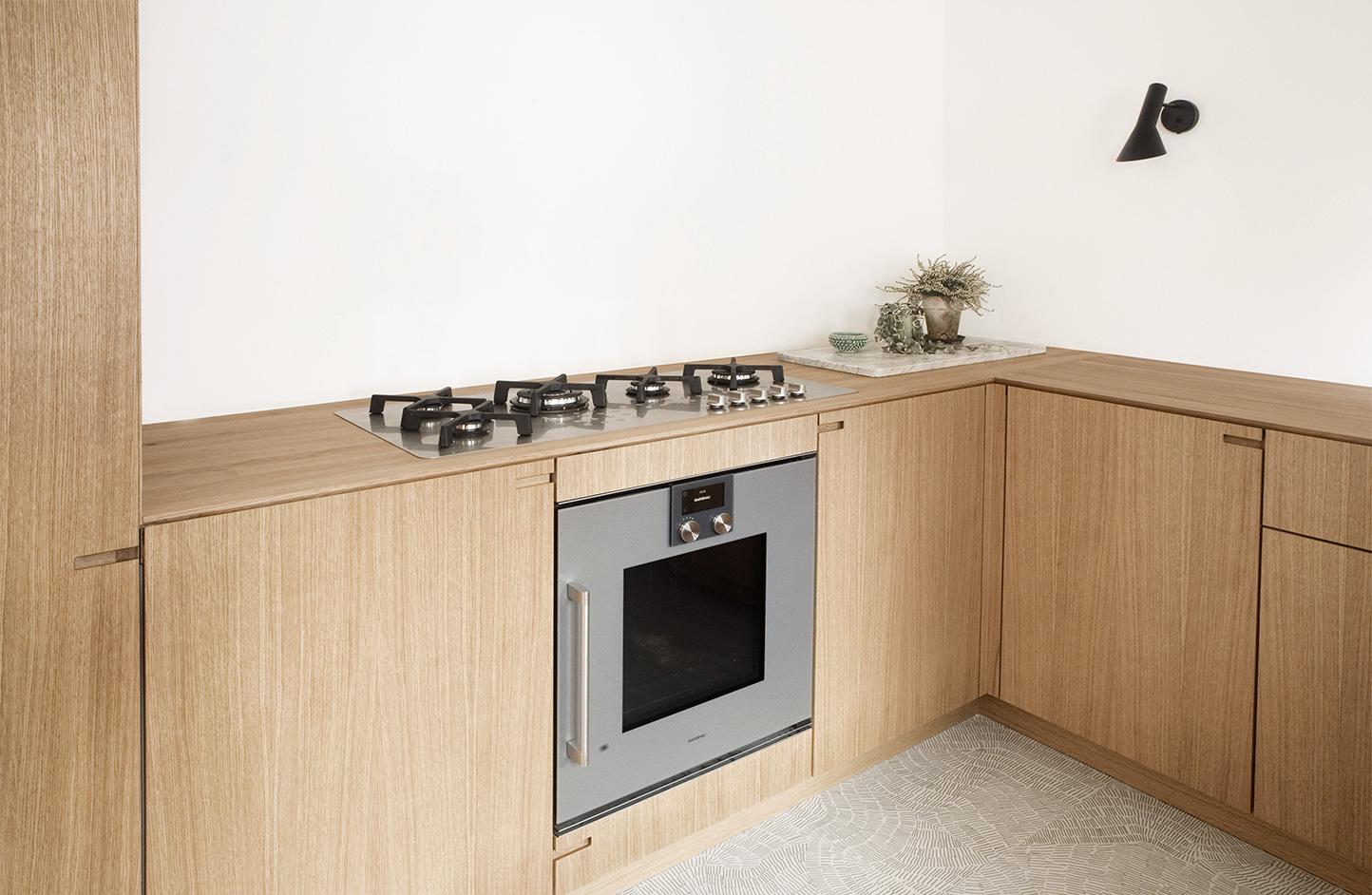 Bespoke Kitchen design by cabinet maker Nicolaj Bo, Copenhagen