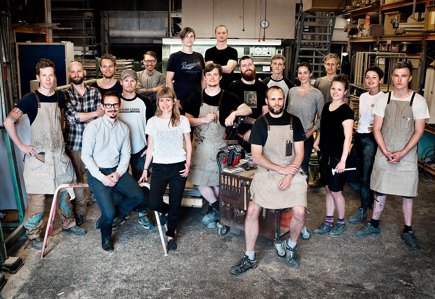 Hele holdet på Teglholmen i København - Nicolaj Bo™