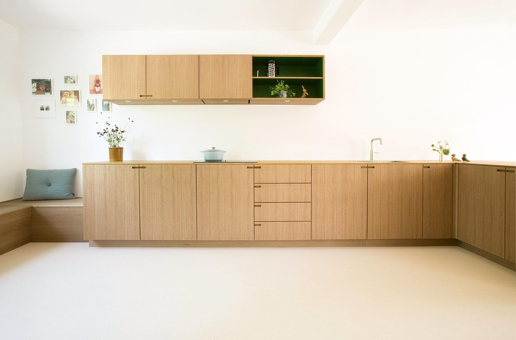 Snedkerkøkkenet Egernvej - designet og produceret af Nicolaj Bo™