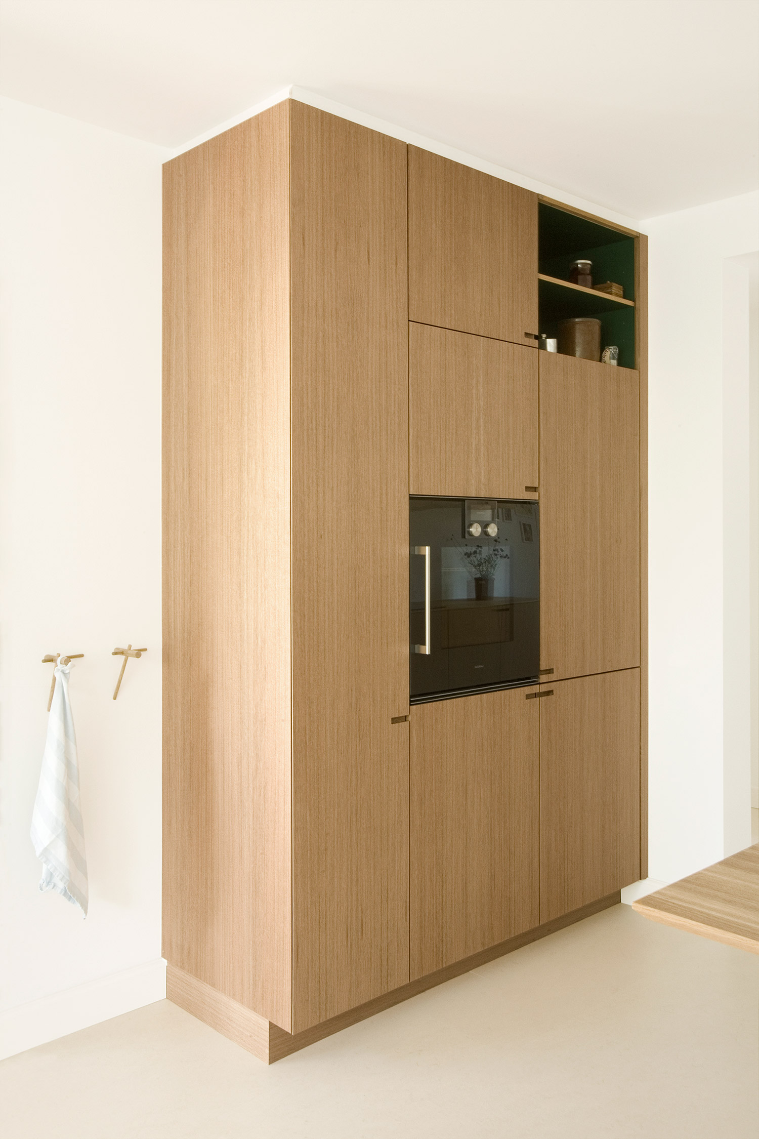 Minimalist kitchen with Gaggenau oven - designed and produced by Nicolaj Bo™ in Copenhagen™