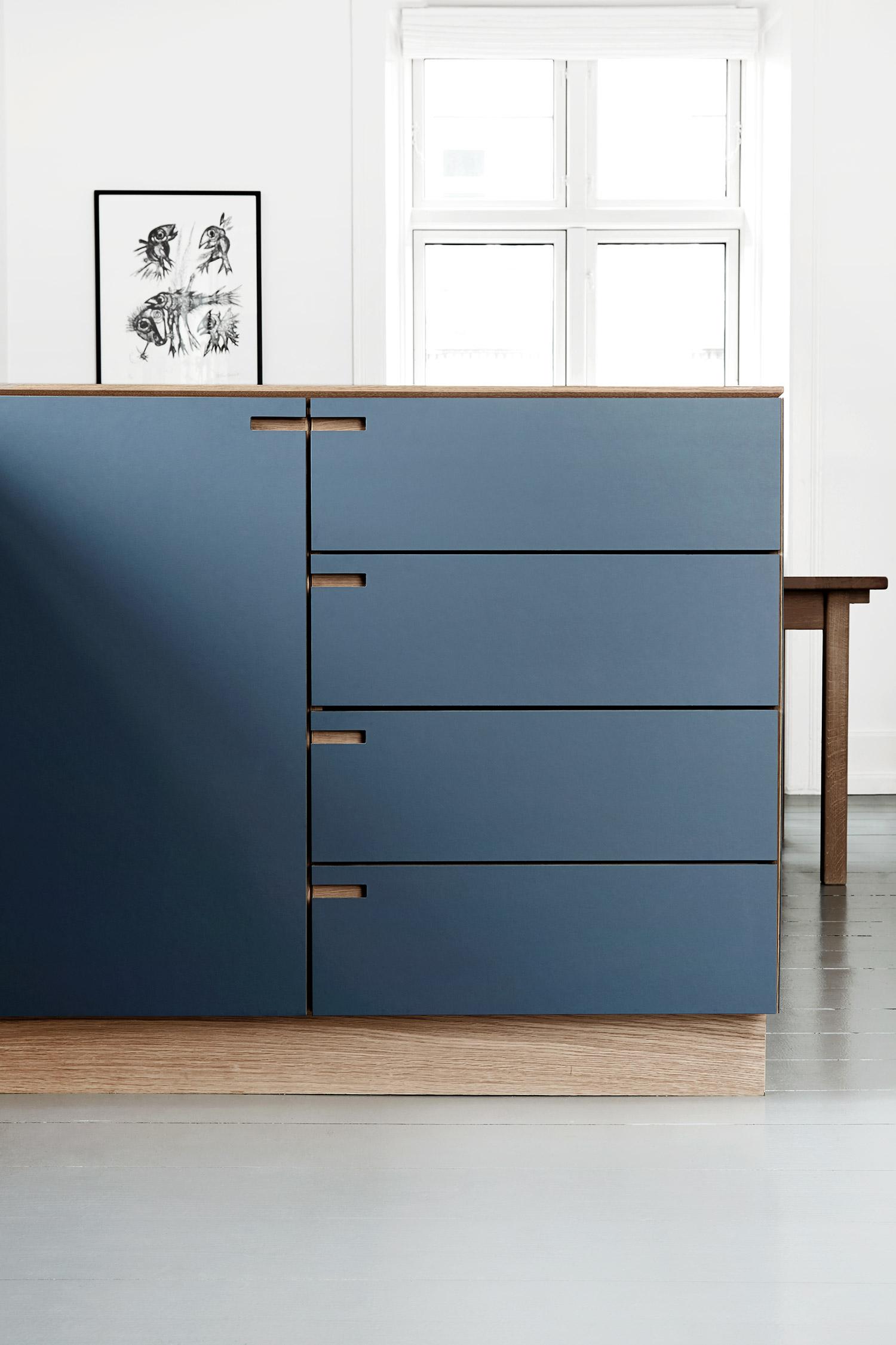 Kitchen design by Nicolaj Bo, Copenhagen, Denmark