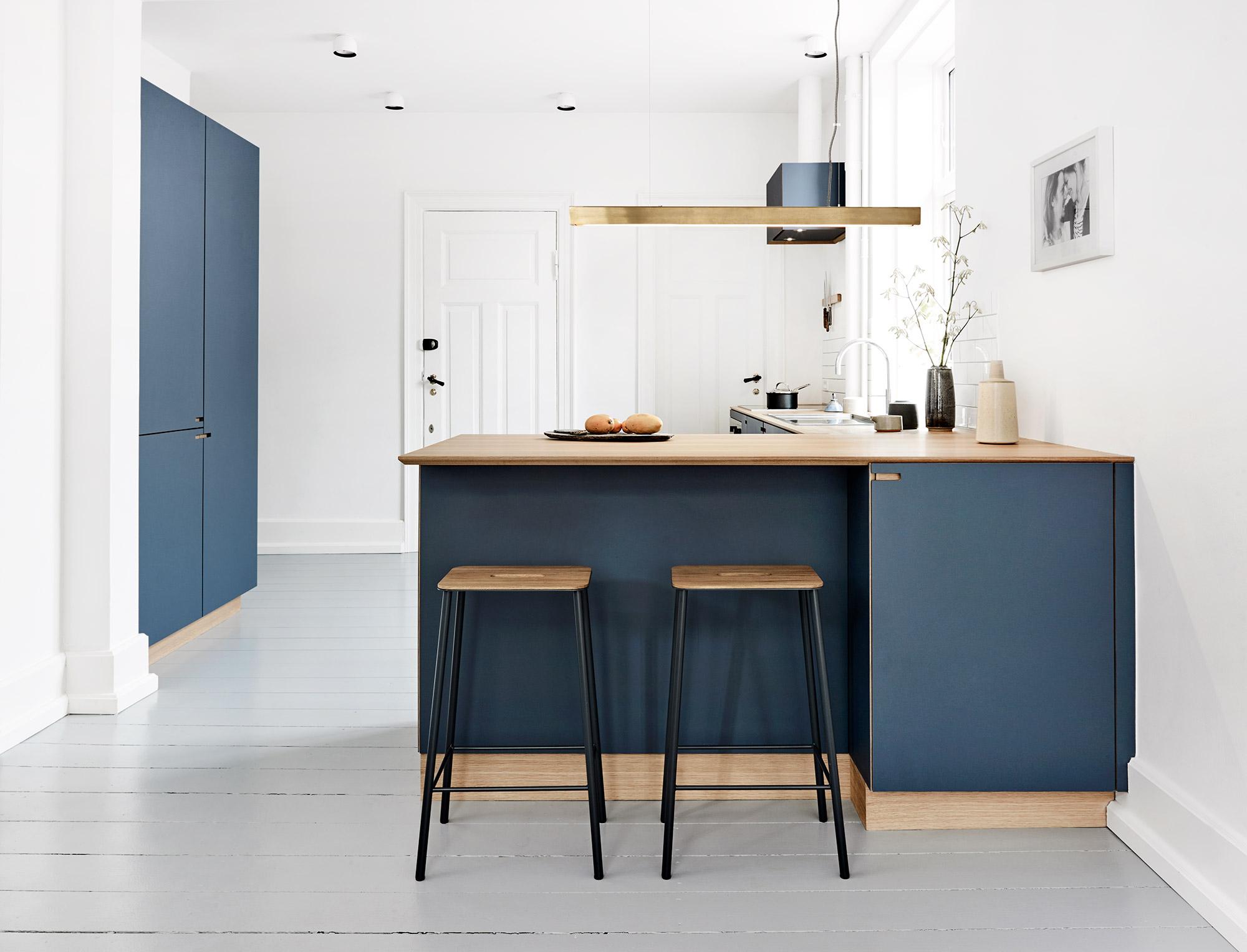 Snedkerkøkkenet Svanholmsvej - designet og produceret af Nicolaj Bo™ - København