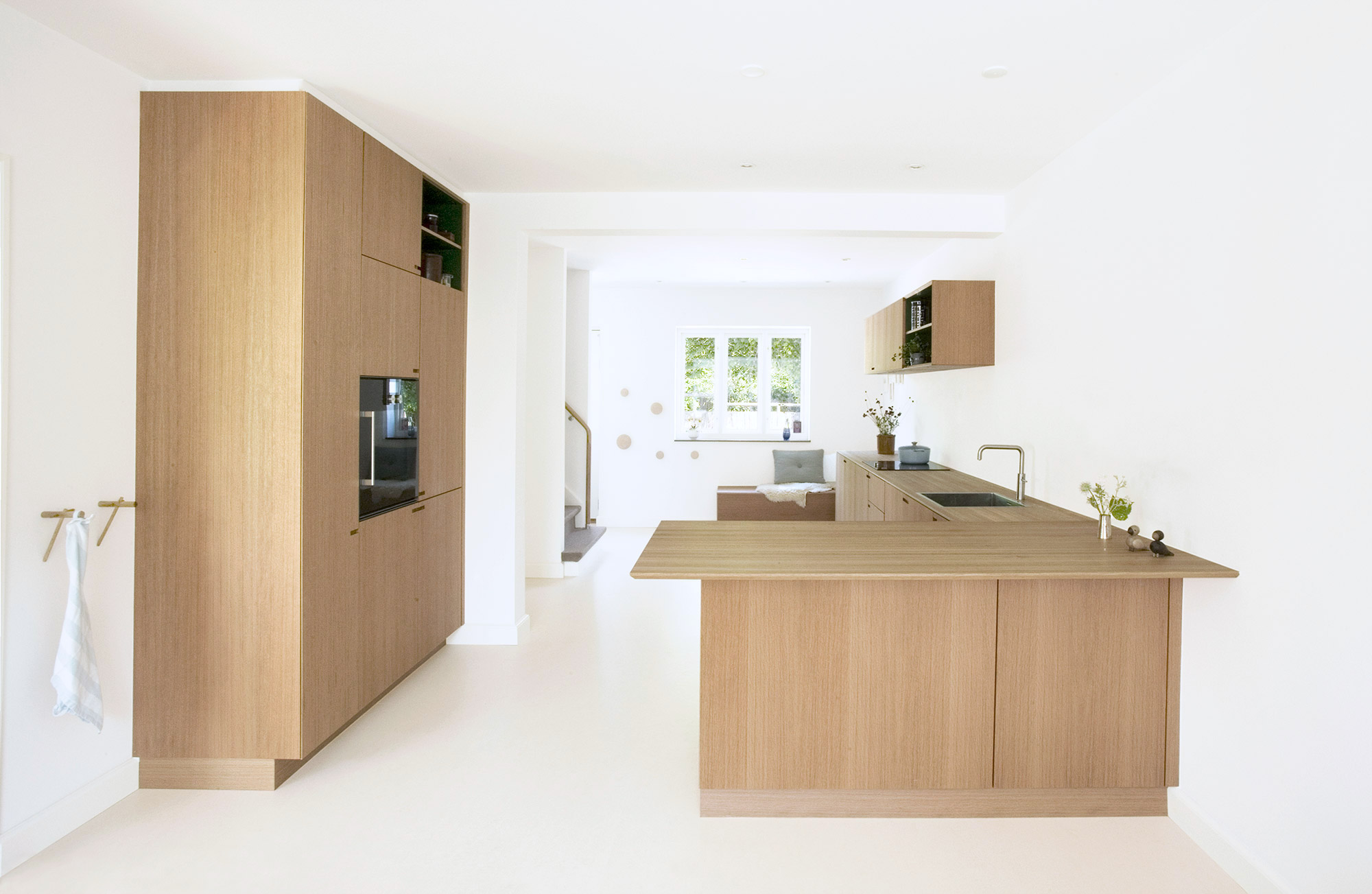 The kitchen at Egernvej - designed and produced by cabinet maker Nicolaj Bo™