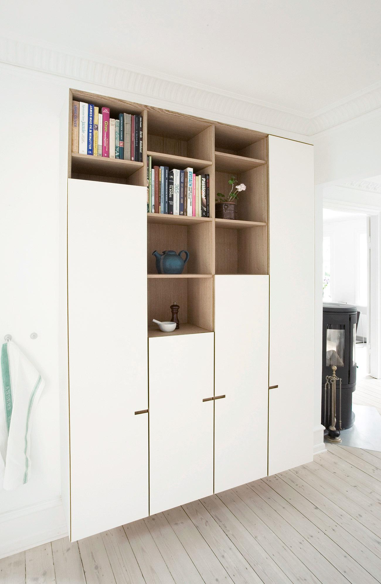 Snedkerkøkkenet Kildevældsgade - designet og produceret af køkkensnedker Nicolaj Bo™