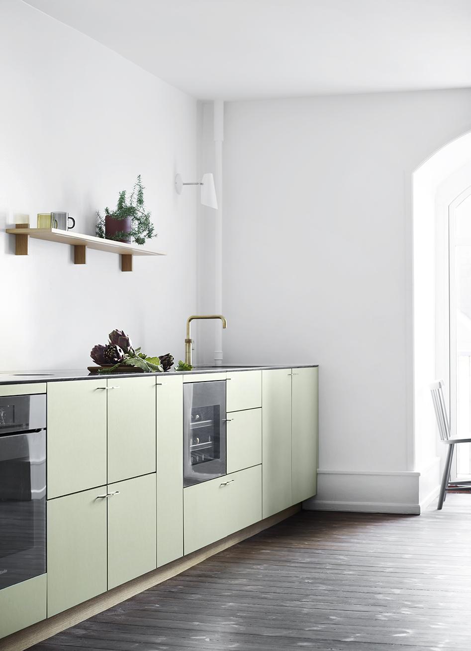 Nicolaj Bo™ - Eg og pistachio linoleum - Vesterbrogade